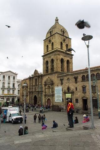 Igreja de São Francisco - O que fazer em La Paz em um roteiro de 2 dias