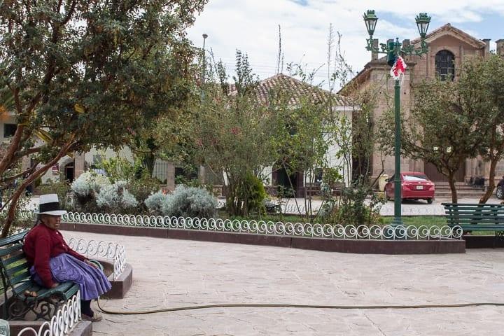 Tour Maras e Moray - Cusco - Praça em Maras