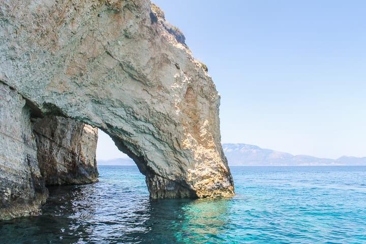 Blue Caves - Guia de praias de Zakythos