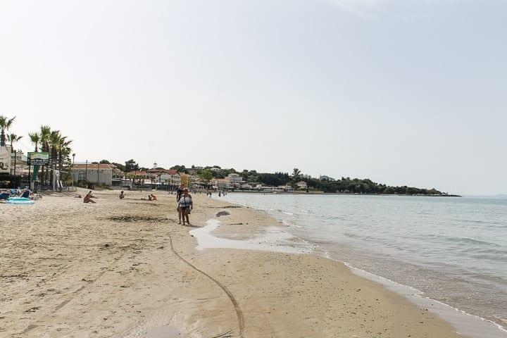 Praia Tsilivi - guia de praias de Zakynthos