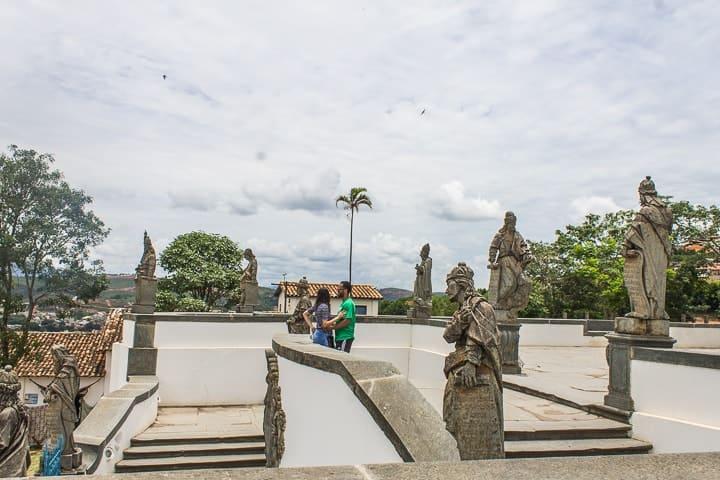 O que fazer em Congonhas - 12 profetas de Aleijadinho