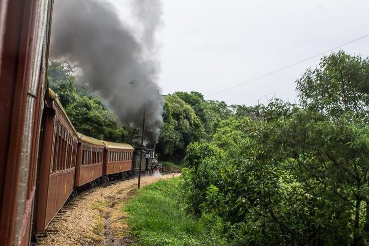 passeio de trem Maria Fumaça Tiradentes a São João del Rei - o que fazer em Tiradentes
