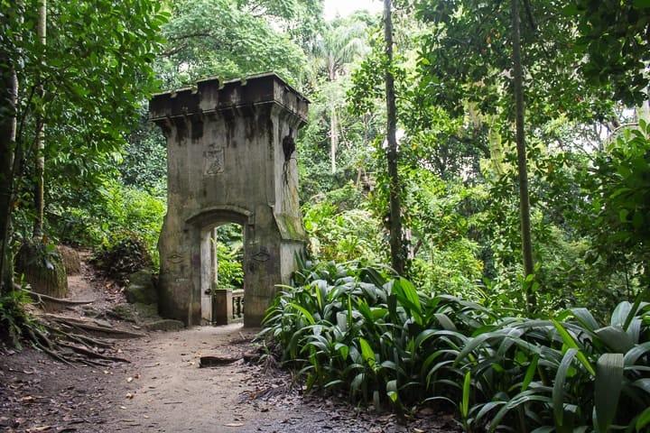 Natureza e trilhas no Parque Lage, Rio de Janeiro