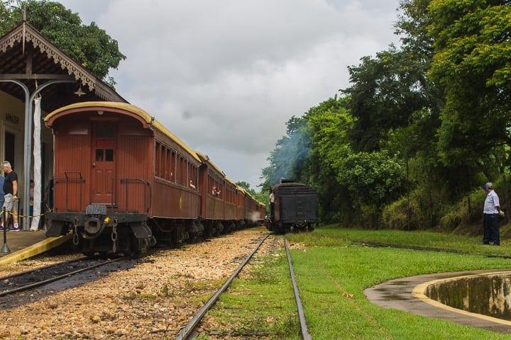 Passeio de trem maria fumaça de Tiradentes a São João del Rei