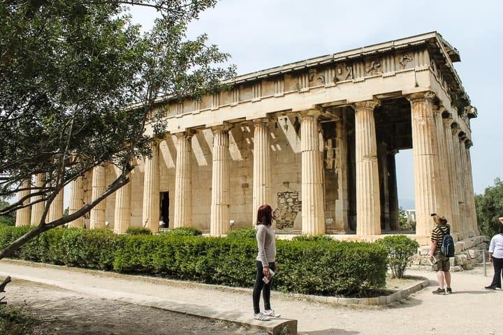 Templo de Hefesto, Agora Antiga, Atenas
