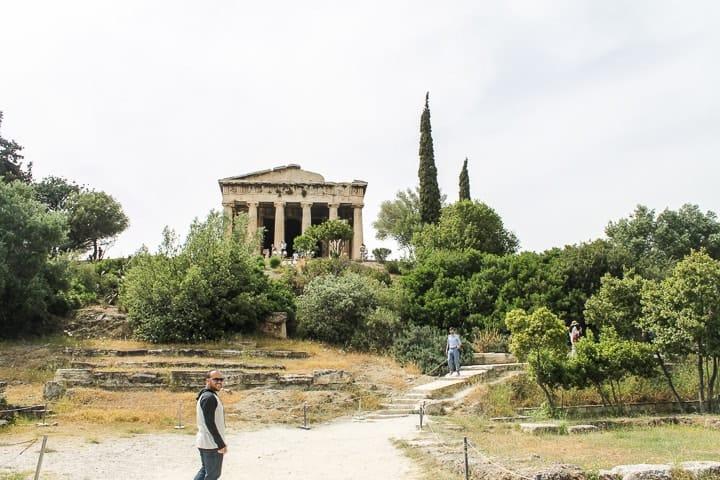 Templo de Hefesto, Ágora Antiga, Atenas