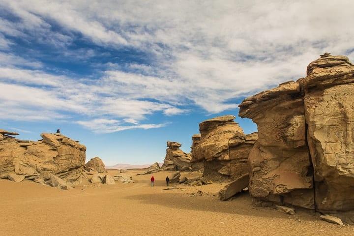 Tour Salar de Uyuni - dia 2 - Deserto de Siloli
