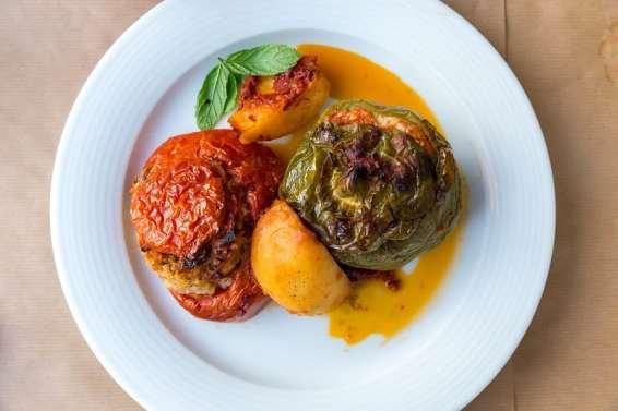 Gemista, prato típico da culinária grega
