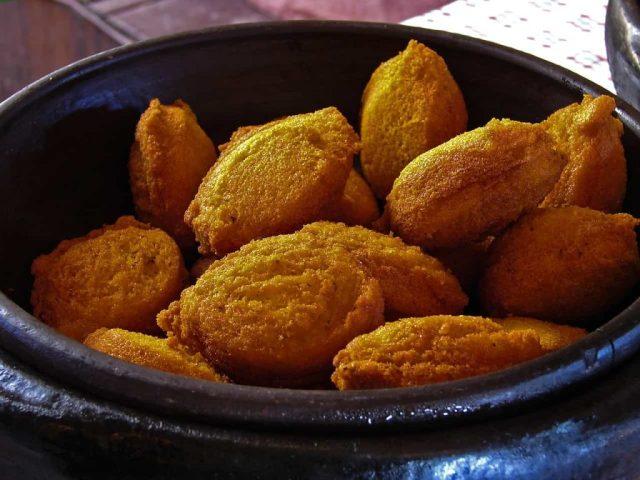 Acarajé, comida de origem africana