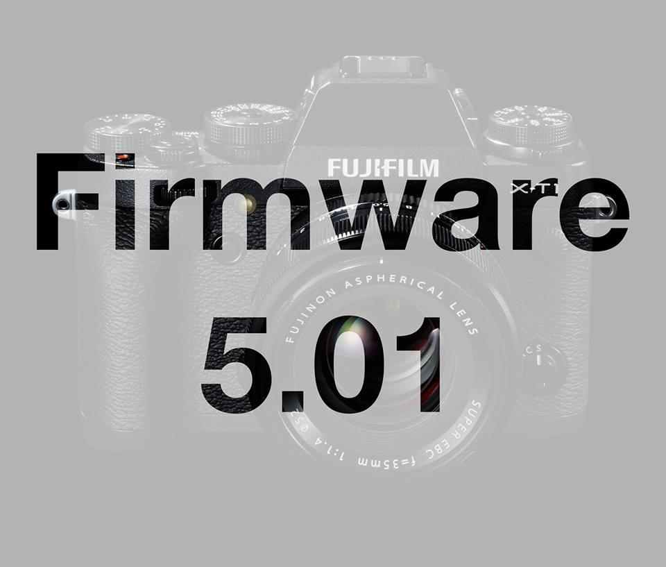 nový firmware pro X-T1