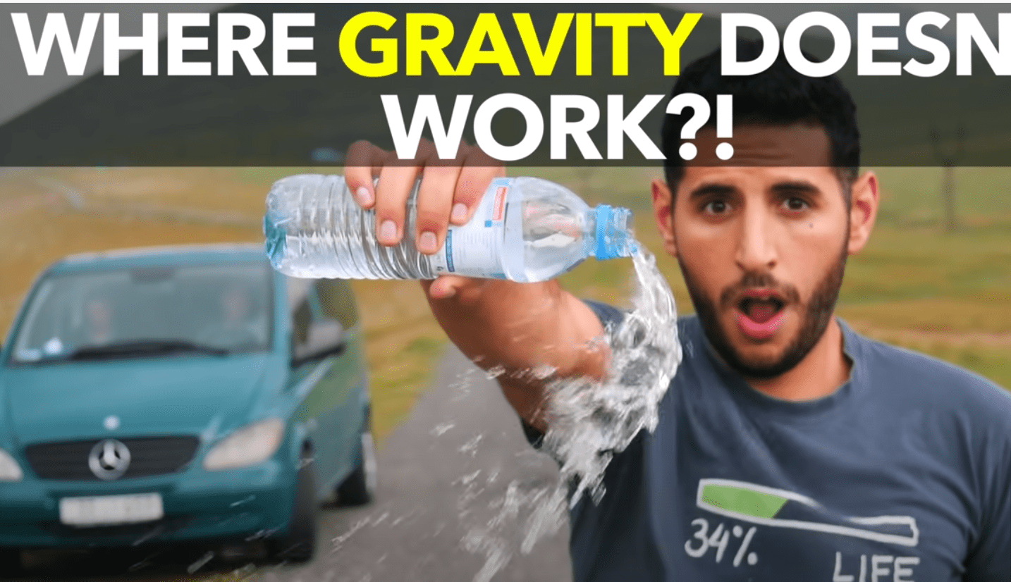 Nas Daily / Where Gravity Doesn't Work?