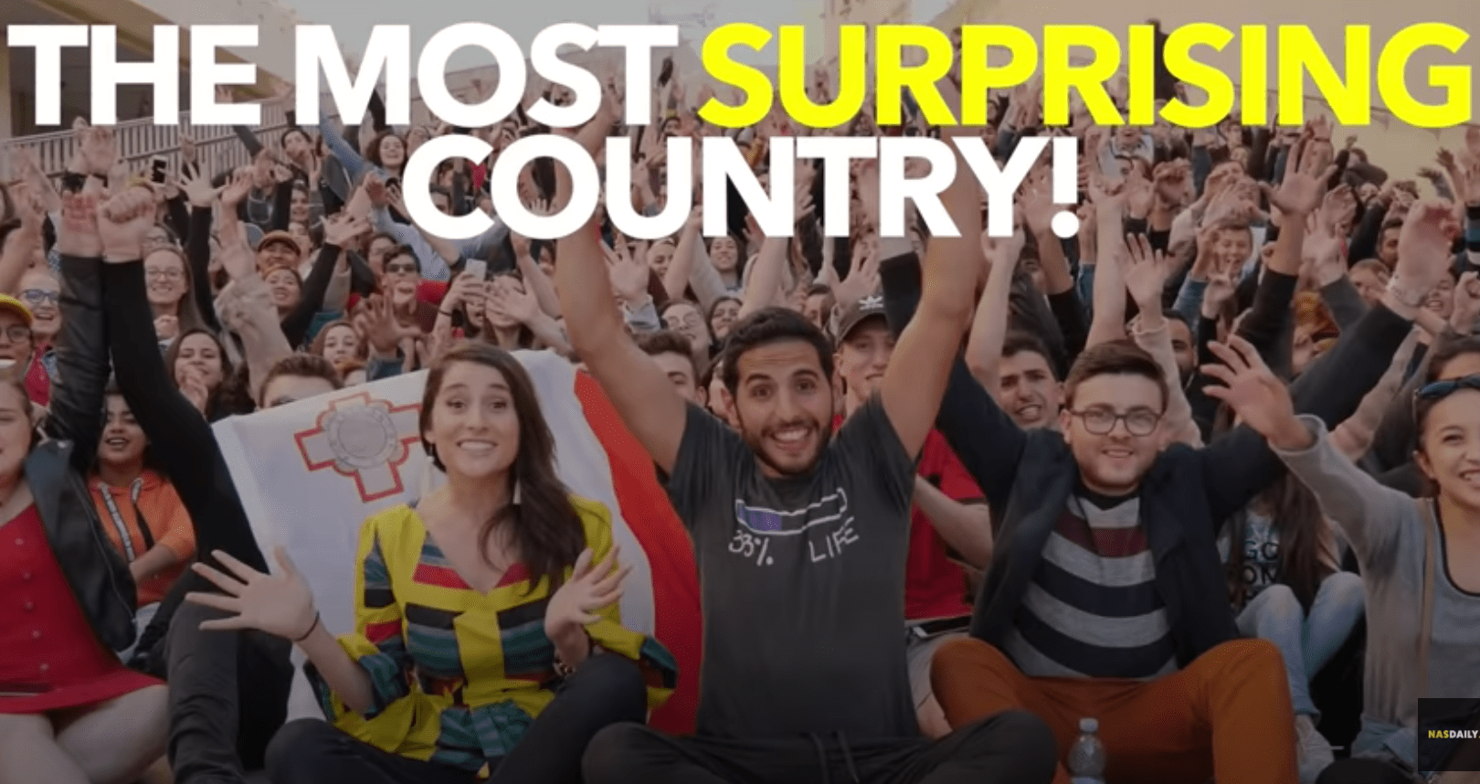 Nas Daily / The most surprising country.
