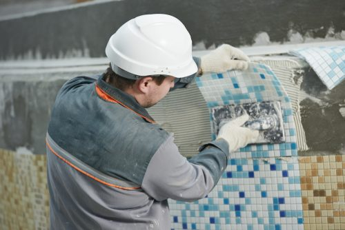 to replace broken swimming pool tiles