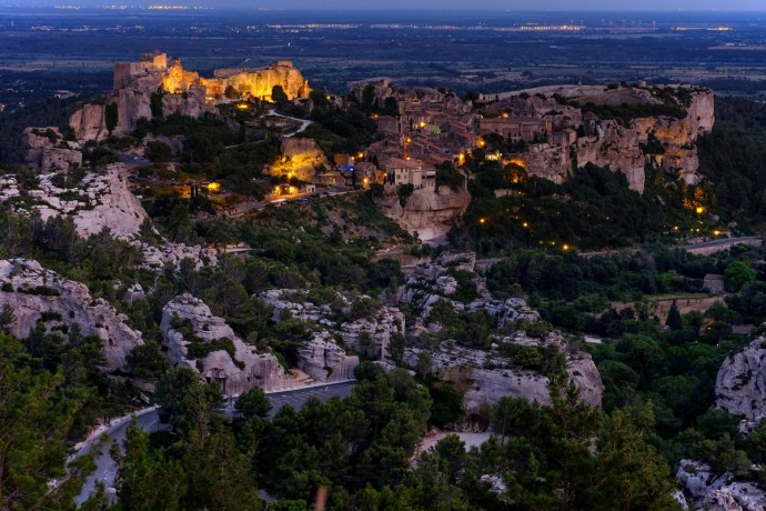 Les Baux de Provence - evening