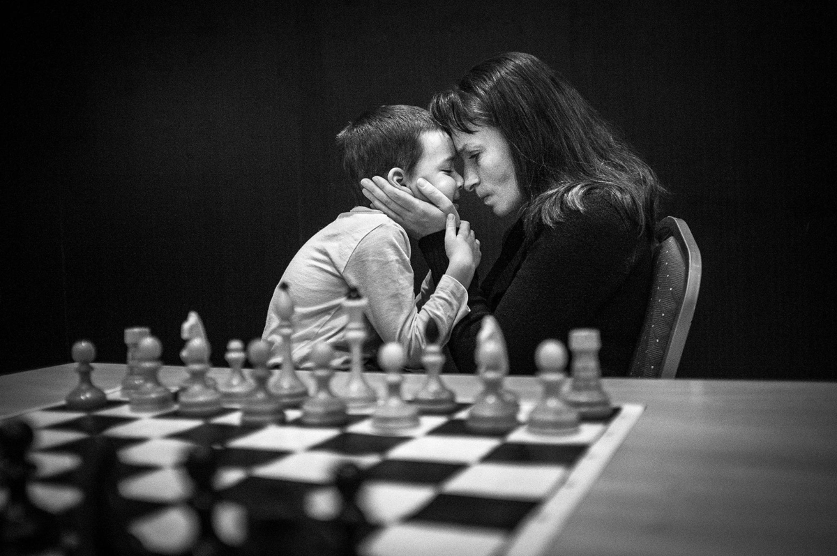 Youth Chess Tournaments, WPP Award-winning photographer 2017, with the Fuji X100