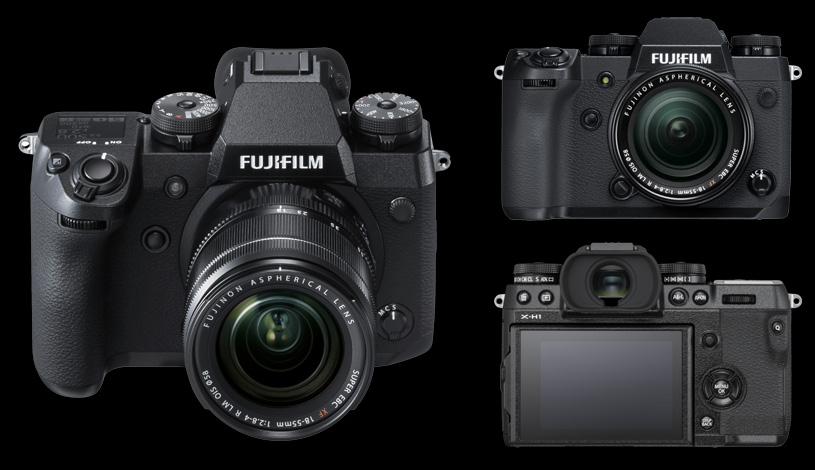 The all new Fujifilm X-H1
