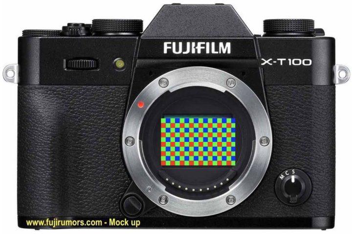 Fuji X-T100 specs leaked