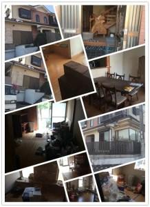 ゴミ屋敷、一軒家、片付けしたの写メ