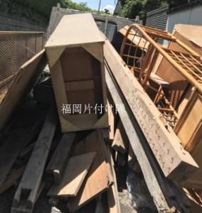 福岡で家具や家具を分解した木材などの回収・処分は福岡片付け隊