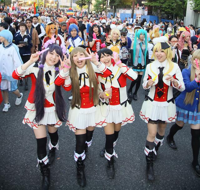 cosplay parade