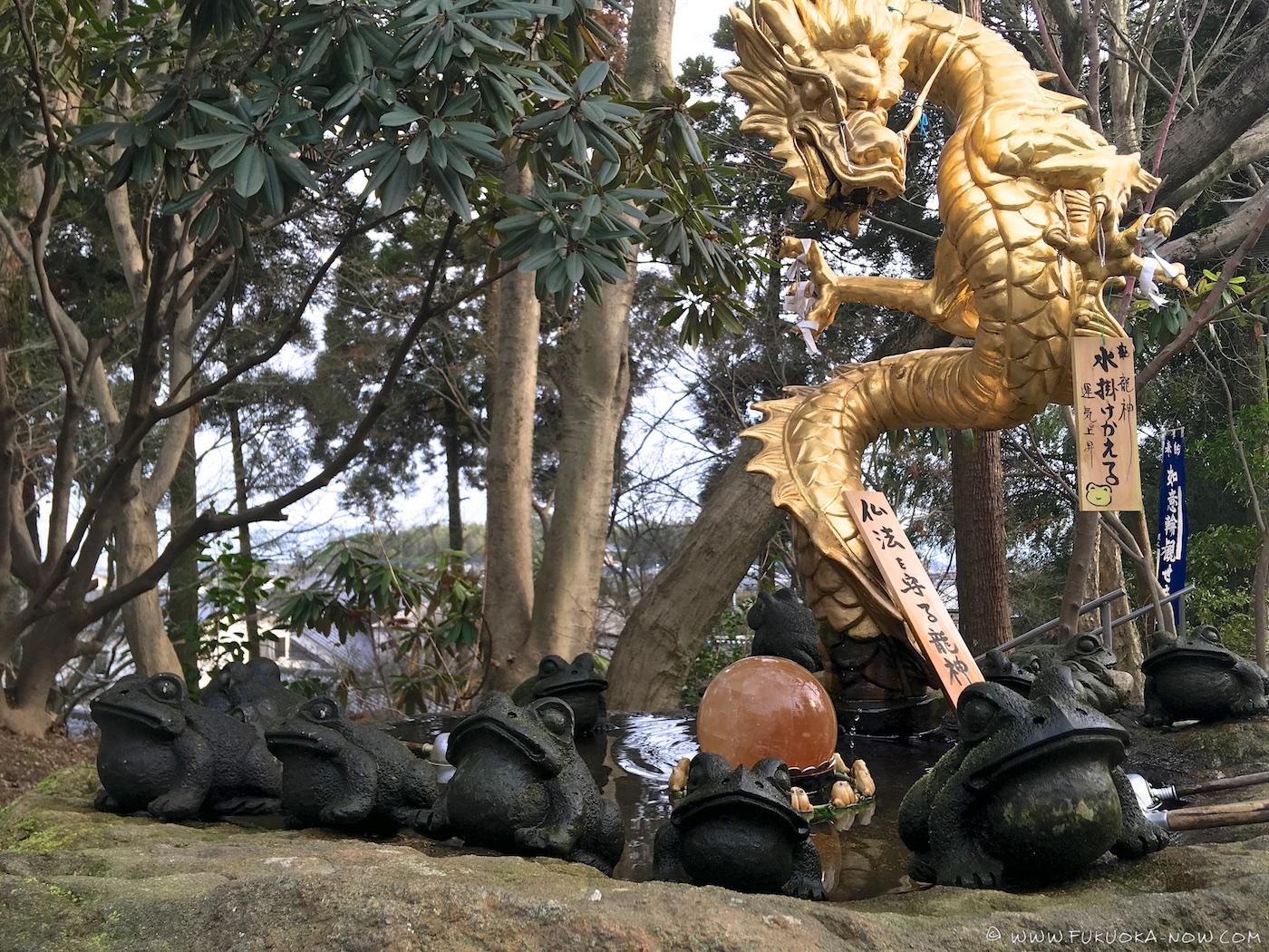 nyoirinji, temple, ogori, fukuoka, frog temple