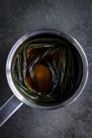 pandan palm sugar syrup