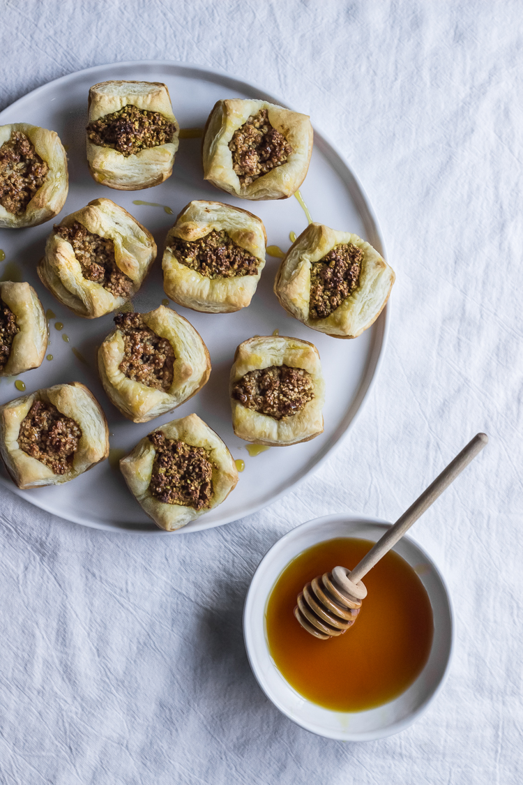 Puff Pastry Baklava Ful Filled
