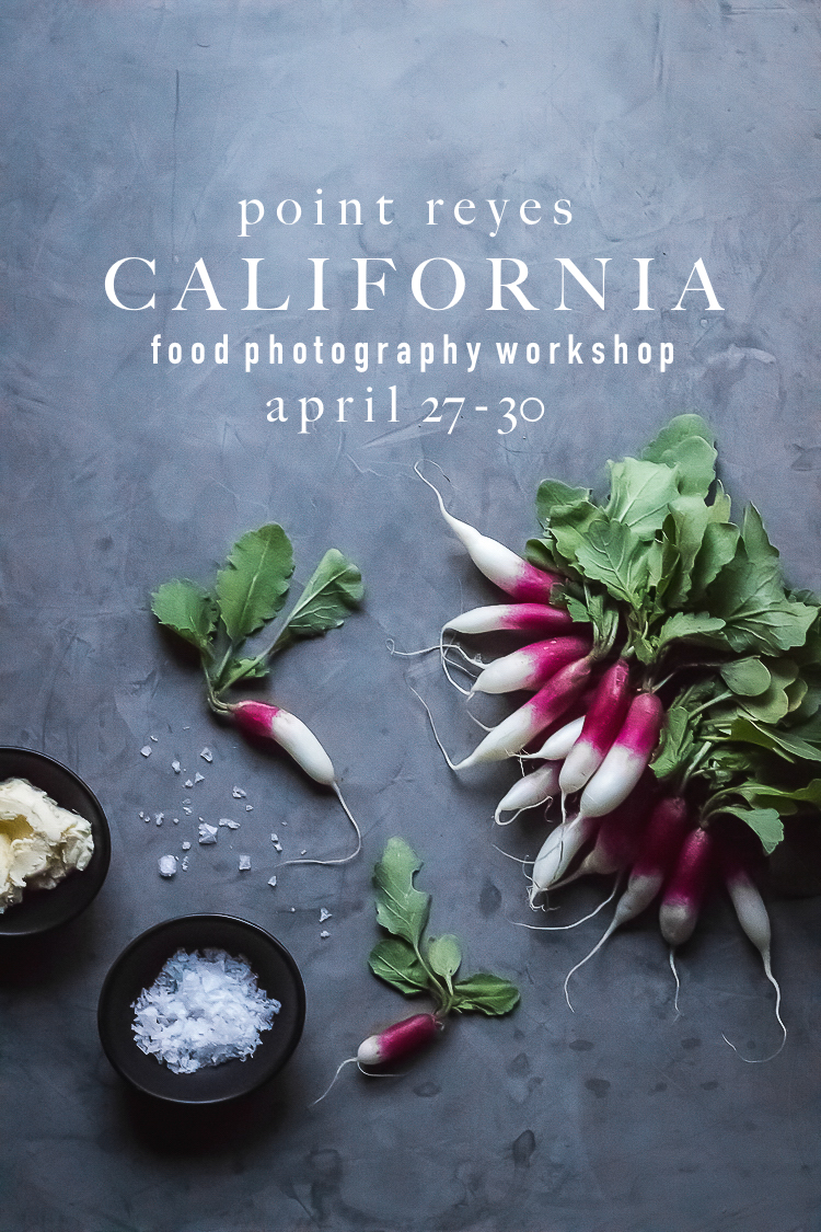 california food photography workshop | point reyes