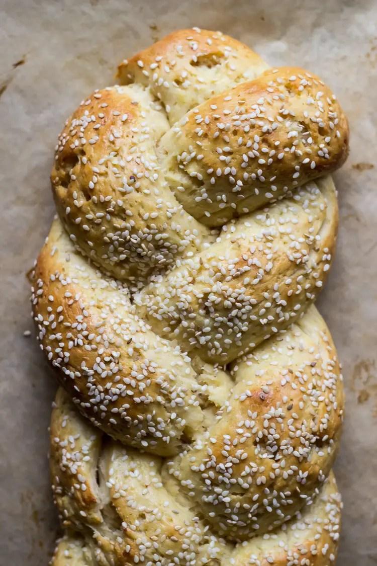 gluten free tsoureki