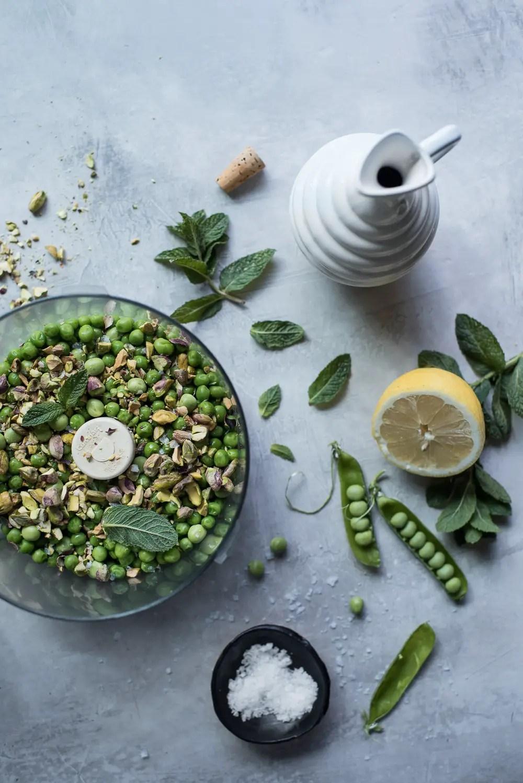 pea & pistachio pesto