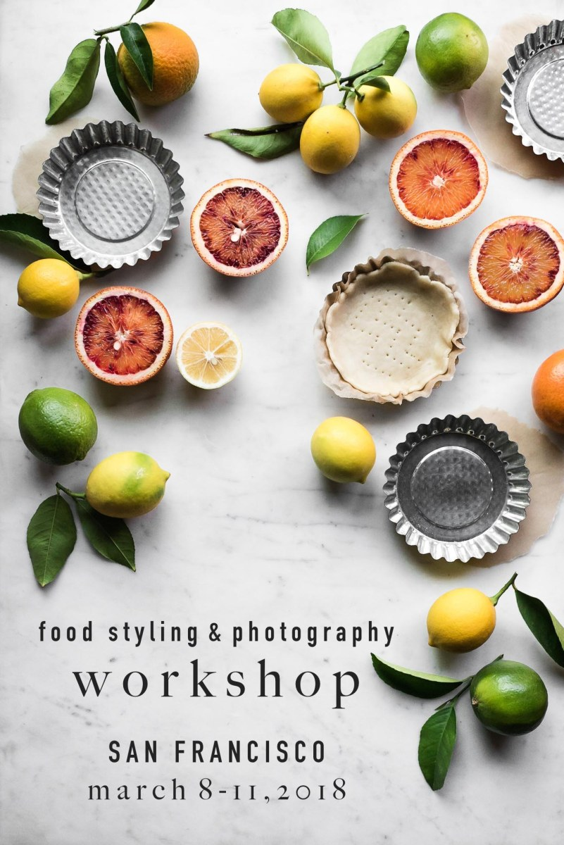 FOOD PHOTOGRAPHY WORKSHOP - SAN FRANCISCO