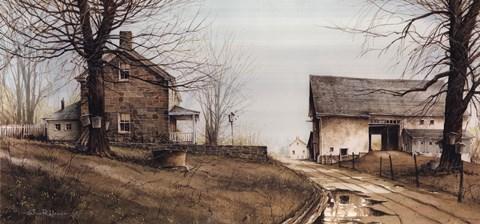 Spring Thaw Fine Art Print By John Rossini At
