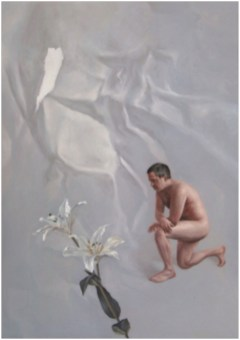 """""""Not Even Solomon"""" - Oil on Linen, 34"""" x 24"""""""