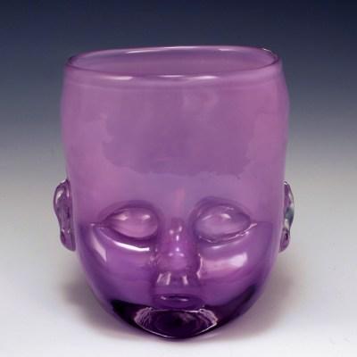 Baby Head Cup Purple