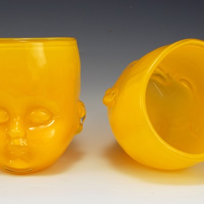 Baby Head Cup Yellow