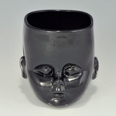 Baby Head Cup Black