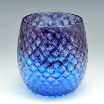 Diamond Facet Wine Bulb – Amethyst & Sapphire