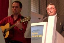 Bürgermeister Hans-Jürgen Schäfer verzichtete auf ein Grußwort, konnte aber als Dichter und Sänger überzeugen und für gute Stimmung sorgen.