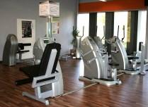 Dieser Teilbereich mit den modernsten Fitnessgeräten im geräumigen Trainingszentrum Schlitz im Firmengebäude der Firma Landgraf in Hutzdorf, ist besonders für das Firmen-Fitnes-Training geeignet.