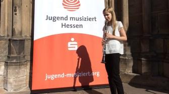 Klarinettistin Anna Matzen