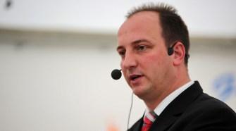 Bürgermeister Florian Hölzer (parteilos)