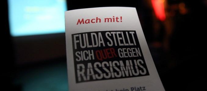 Fulda stellt sich quer gegen Rassismus