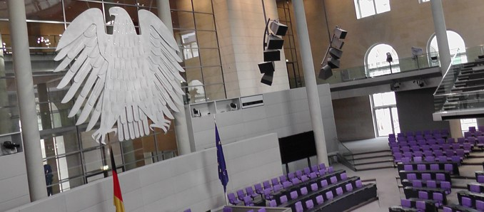 Deutsch, Bundestag