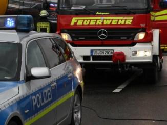 Unfall, Polizei