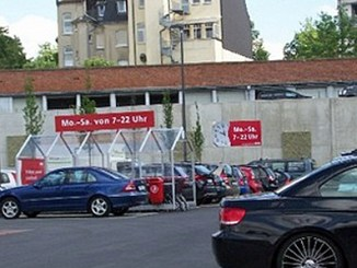 Parkplatz bei Grasmück
