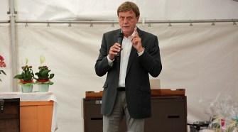 Karl-Josef Schwiddessen (CDU), Bürgermeister der Gemeinde Petersberg