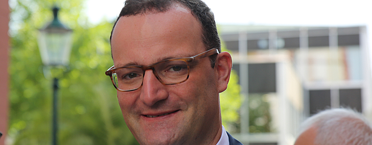 Spahn will Laschet als Unions-Kanzlerkandidaten