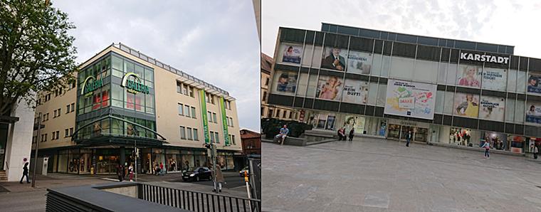 Galeria Karstadt Kaufhof in Fulda – ver.di befürchtet Schließung