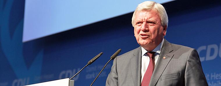Corona-Virus: Ministerpräsident Volker Bouffier wendet sich an die Bürgerinnen und Bürger in Hessen