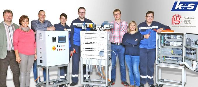 Lernortkooperation von K+S und Ferdinand-Braun-Schule